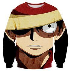 One Piece Sweatshirt Pokemon - OtakuForest.com