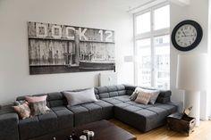 Textilfabrik wird zur Loftwohnung eclectique