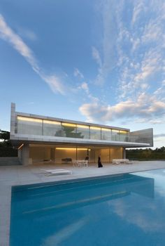 Aluminum House by Fran Silvestre Arquitectos - Archiscene - Your Daily Architecture & Design Update