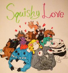 Glorious Squishy love fan art from squishy fan Madeline L! #squishable #plush #fanart