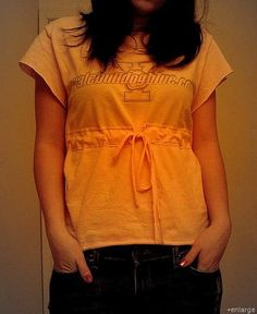 DIY T-Shirt Upcyle