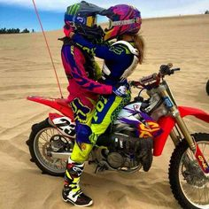 For that moto couple. Would be a cute engagement photo, something they both love.