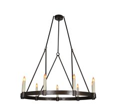 Fabienne | Chandeliers | Collections | Ironware International