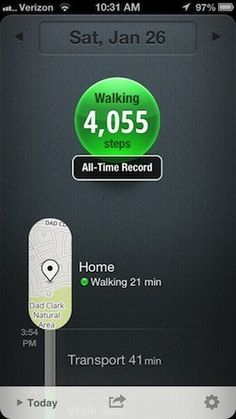 Moves: fitness tracking without a pedometer in your pocket | TUAW - The Unofficial Apple Weblog