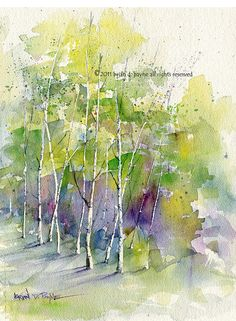 Edge of Spring by BrianPayneArt on Etsy