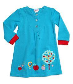 Apple Tree Cottage Dress (OTFT384-POOL-2T) | Zutano - SUPER cute!!!