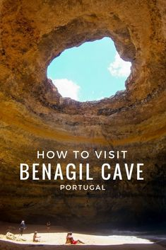 How to Best Visit Benagil Cave, Portugal A spectacular formation in the Algarve region, Benagil can only be reached from the water. Here's the scoop how to visit Benagil Cave the awesome way: Portugal Vacation, Places In Portugal, Portugal Travel Guide, Spain And Portugal, Faro Portugal, Portugal Trip, Hotels In Portugal, Albufeira Portugal, Sintra Portugal