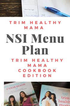 Here's an NSI menu plan that uses the first Trim Healthy Mama Cookbook! Enjoy the ease of having meals planned for the week! :) Here's an NSI menu plan that uses the first Trim Healthy Mama Cookbook! Enjoy the ease of having meals planned for the week! Weekly Menu Planning, Meal Planning, Trim Healthy Mama Diet, Low Carb Wraps, Healthy Carbs, Healthy Eating, Thm Recipes, Healthy Recipes, Recipies