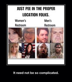 You are looking at FOUR people, not eight. Transgender men to women that republican lawmakers want to force to use men's restrooms. Because when you are transphobic, transgender men to women are of no value so the proven increase in physical and sexual assaults against them means nothing.