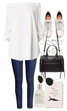 Untitled #9545 by nikka-phillips on Polyvore featuring polyvore, fashion, style, TIBI, H&M, Forever 21, ASOS, Ray-Ban, Le Labo, Anthropologie and clothing