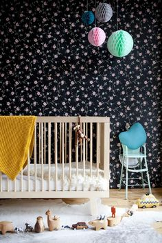 oeuf sparrow crib at babycuuby.com click on the picture to see this crib in other colors and to see the price #oeuf #nursery