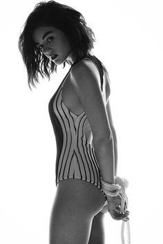 Lucy Hale's Kinky S&M Photo Shoot