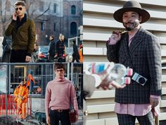 God Save the Queen and all: Street Style: Men´s Collections #streetstyle #menstyle