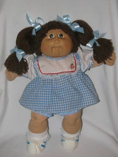 """Cute 16"""" Cabbage Patch Girl Doll"""