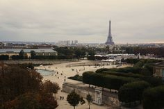View of Concorde and the Eiffel