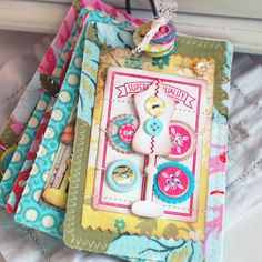 Button Boutique - Fabric Album - Betsy Veldman
