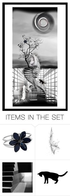 """""""The Horse, The Tree, The Cat and Me (Plz Read)"""" by reggiano ❤ liked on Polyvore featuring art and 521"""