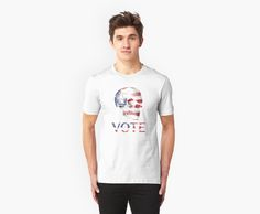 Rock the vote on election day with this rocking, badass t-shirt! • Also buy this artwork on apparel, stickers, phone cases, and more.