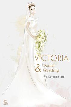 Victoria de Suecia: el vestido