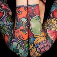 Girls Sleeve Tattoos #Tattoo #Tattoos #GirlTattoos #TattoosForGirls