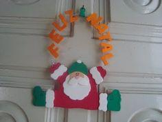Artesanato em EVA para o Natal