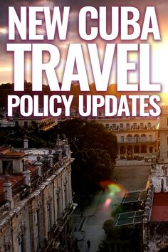Find out what you need to know when planning a trip to Cuba. The latest on the new Cuba travel policy updates can all be found here.