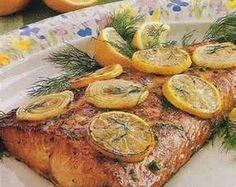 Lemon Pepper Salmon. Looks so easy and good!