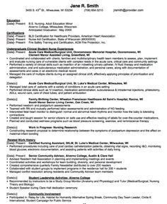 in post this time we will give a example about sample of undergraduate clinical nurse resume example that will give you ideas and provide a reference for - Resume Template For Nurses