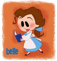 Belle (Chibis by David Gilson)