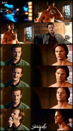 Sabriel ;-) I can't help wanting to point out how pretty Sam's facial expressions in this whole thing are