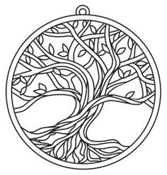Eden's Tree | Urban Threads: Unique and Awesome Embroidery Designs
