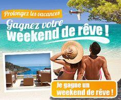 Gagner-Des-Voyages.com: week-end de rêve à gagner