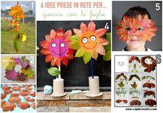 6 idee prese in rete per... giocare con le foglie