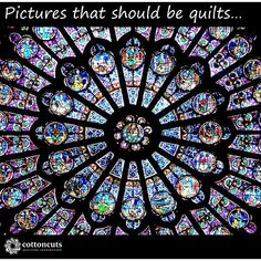 """Welcome to our """"Pictures that should be quilts"""" post. We've scoured tons of photos and found inspiration in nature, architecture and the art around us. Some of these look like quilt patterns already and some could easily inspire a new trend!  This week, we were inspired by the dresden plate in this picture. Dresdens are so beautiful and we think the intricate detail of this design would be beautiful in fabric. What do you think?  #cottoncuts #picturesthatshouldbequilts"""