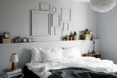 Beutiful bedrum with lots of great diy ideas. Interior Design Inspiration, Style Inspiration, Inspirations Magazine, Design Your Life, Bedroom, Projects, Furniture, Home Decor, Master