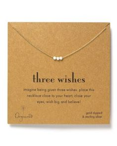 Dogeared Three Wishes Multi Metal | Bloomingdales's
