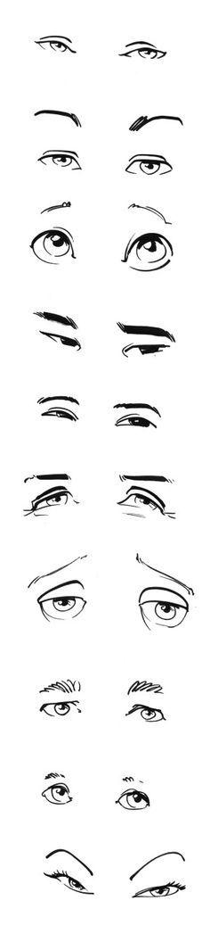 Tipos de ojos                                                                                                                                                                                 Más