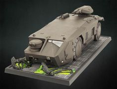 Futuristic Cars, Futuristic Vehicles, Aliens Colonial Marines, Alien 2, Starship Concept, Film Games, Sci Fi Models, Hobby Toys, Model Tanks