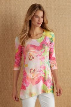 Garden Blooms Tunic from Soft Surroundings