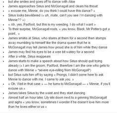 McGonagall at James and Lily´s wedding part 2/2
