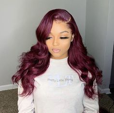 SuperNova Hair Light & Dark Color Body Wave Lace Front Wigs Unprocessed Human Hair Lace Front Wigs Pre-Plucked With Baby Hair Hair Color For Women, Wigs For Black Women, Wine Red Hair, Best Lace Wigs, Thing 1, Hair Quality, Body Wave Hair, Light Hair, Textured Hair
