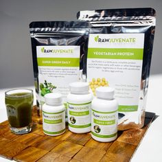 RawJuvenate Complete Organic Detox 30-Day System....I might try this!!