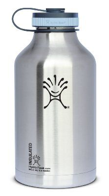 Hydro Flask Insulated Stainless Steel Wide Mouth Water Bottle and Beer Growler, 64-Ounce:Amazon:Sports & Outdoors