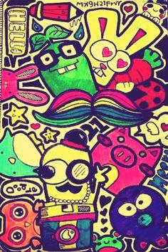 Doodle wallpaper..... 