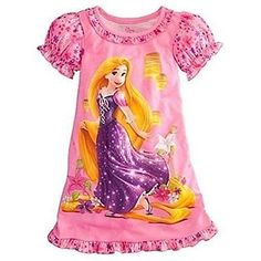Baby & Toddler Clothing Clothing, Shoes & Accessories Dedicated Disney Store Princess Tangled Rapunzel Pink Pajamas Shorts Pj Girls Nwt Size 2 To Rank First Among Similar Products