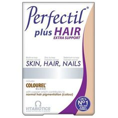 Vitabiotics Perfectil Plus Hair Extra Support Συμπλήρωμα Διατροφής για Υγιή Μαλλιά, Δέρμα & Νύχια 60 tabs. Μάθετε περισσότερα ΕΔΩ: https://www.pharm24.gr/index.php?main_page=product_info&products_id=11933