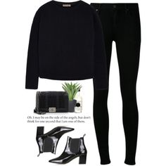 - Stand  - by lolgenie on Polyvore featuring moda, Tomas Maier, Citizens of Humanity, Chanel, Fresh, Byredo, Lux-Art Silks and Topshop
