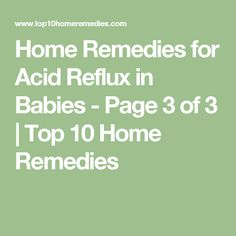 1000 Ideas About Acid Reflux In Babies On Pinterest