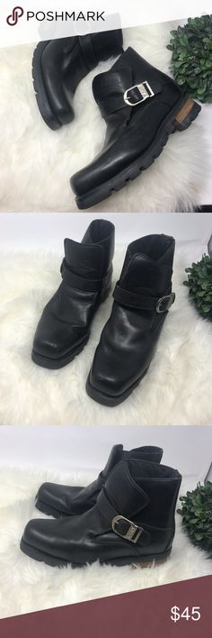 a3351fde41a Karl Kani Motorcycle Riding Harness Boots Black 10 Karl Kani Motorcycle  Boots Size 10 Metal buckle