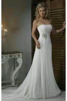 Beautiful wedding dress c: